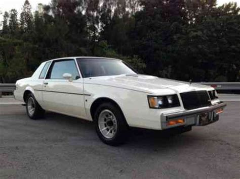 1987 buick regal limited turbo buick regal buick grand national t type turbo t limited