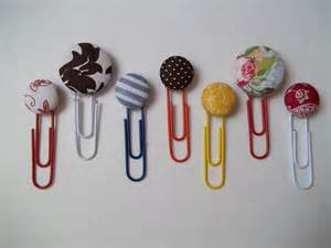 Easy Handmade Bookmarks - handmade series button bookmarks quiver