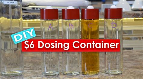 Dosing Contener By Reef 6 diy dosing containers reef sanctuary