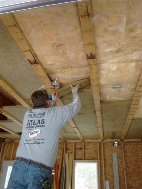 extra insulation garage insulation fine homebuilding homes