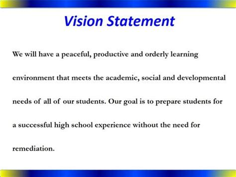 Scholarship Vision Statement essay writing formats sles sle application letter