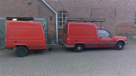 renault express matching trailer 1 5 car