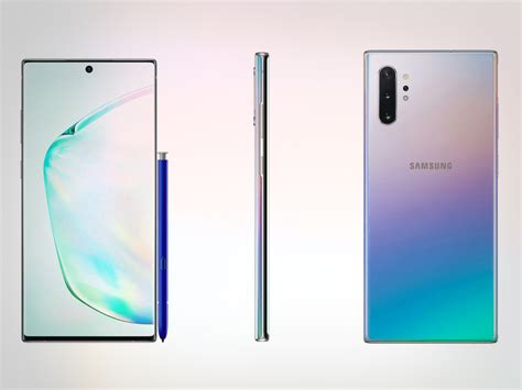 Samsung Galaxy Note 10 Look by This Could Be Our Most Detailed Look At Galaxy Note 10 Plus Yet Inspired Techie