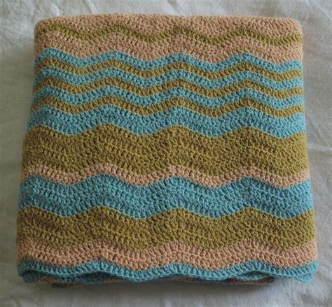 patron couverture crochet zigzag 8
