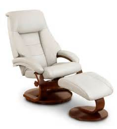 Oslo Recliner by Mac Motion Oslo Collection Recliner Putty Leather