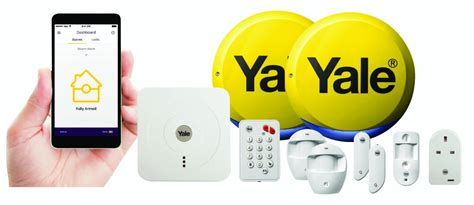 yale wireless smart home security alarm view and
