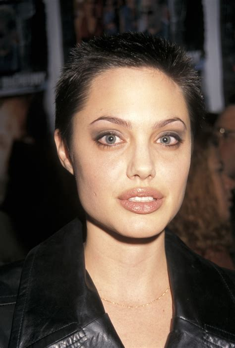 angelina jolie buzz cut 22 famous ladies who look great with a buzz cut these