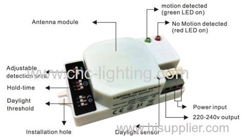 wireless motion sensor light model ct m201 ip20 motion sensor switch products china products