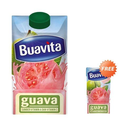 Buavita Guava Juice 250ml jual bogo buavita 21079367 guava rl1 minuman jus instant