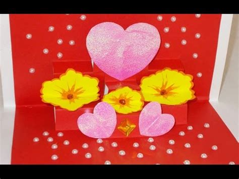 how to make a beautiful pop up card diy pop up cards how to make beautiful greeting card for