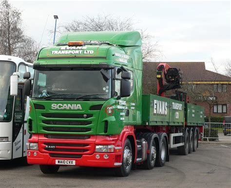 scania exeter transport new scania news from lorryspotting