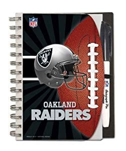 Office Supplies Oakland Oakland Raiders Deluxe Hardcover 5 X 7