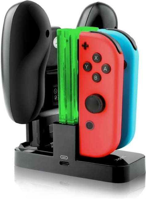 Diskon Pro Controller Switch nintendo switch con pro controller led charge dock