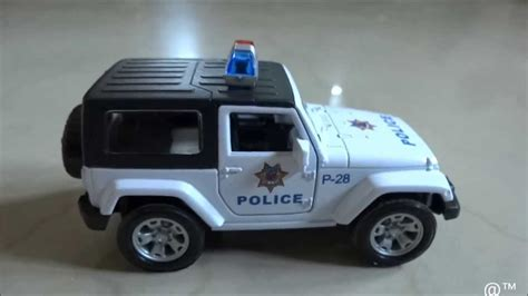 police jeep toy toy police jeep youtube