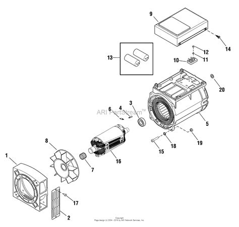 ge power 3 parts diagram briggs and stratton power products 040323 00 11 000 watt