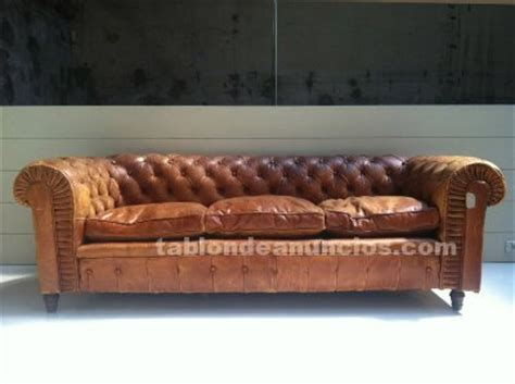 sofa chester segunda mano tabl 211 n de anuncios vendo sof 225 chester mod london