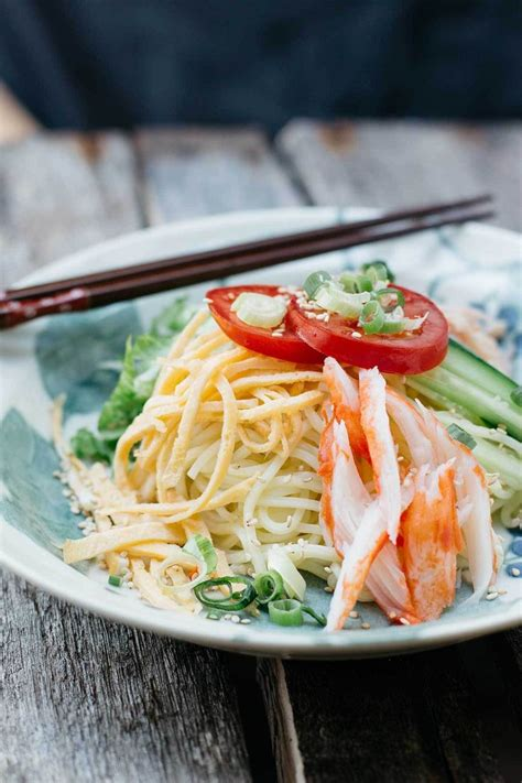kewpie goma dressing recipe check out hiyashi chuka with goma sesame dressing it s