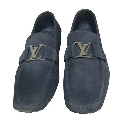 blue louis vuitton loafers loafers louis vuitton 45 blue vendu par hatim 6 5013710