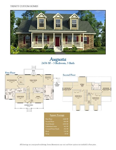 home floor plans georgia floor plans trinity custom homes georgia