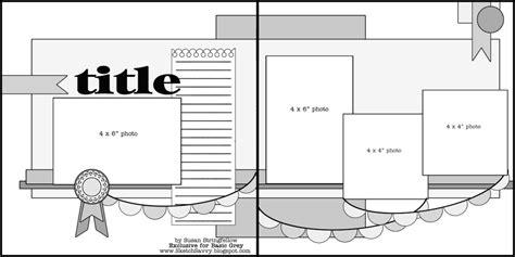 free layout sketch basic scrapbook sketch 8 13 12 basicgrey blog
