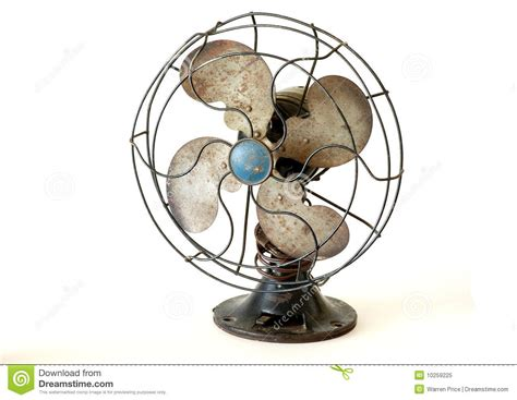 old fashioned electric fan antique electric fan royalty free stock photo image