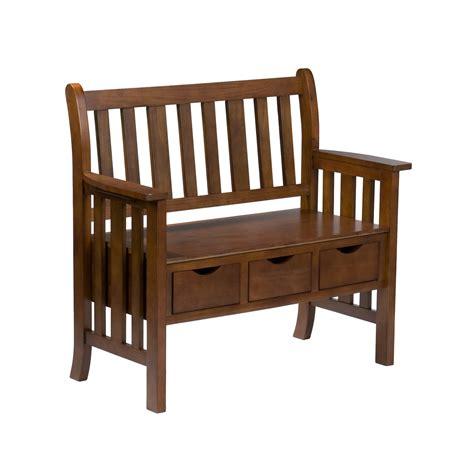 wildon home davidson storage wood entryway bench