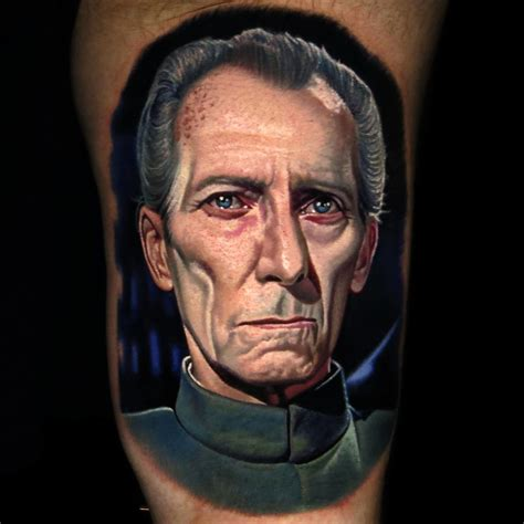 nikko hurtado tattoo grand moff tarkin by nikko hurtado
