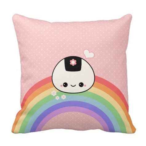 Onigiri Pillow by Onigiri Pillow Zazzle