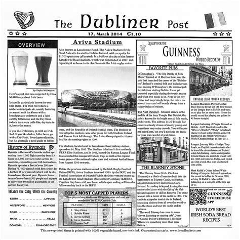newspaper themed restaurant case of 1 000 irish newspaper wax coated deli papers