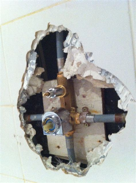 Shower Bath Diverter repair how can i restore the waterproofing behind a