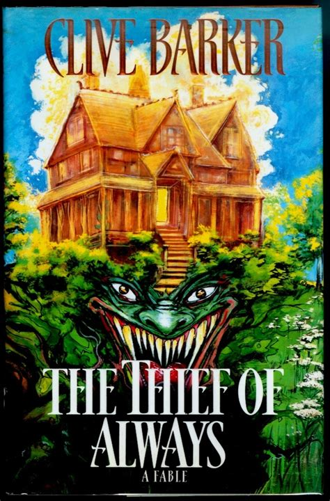 thief of alwaysthe 2eso the thief of always clive barker books worth reading