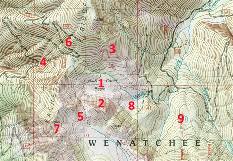 how to read a topographic map how to read topographic maps topozone