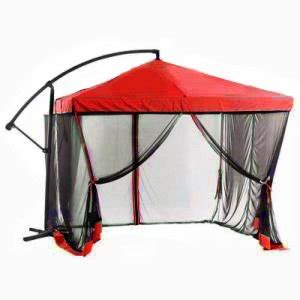 Patio Umbrella With Mosquito Netting Sunshade 9 Ft Offset Square Patio Umbrella With Mosquito Netting Patio Lawn Garden