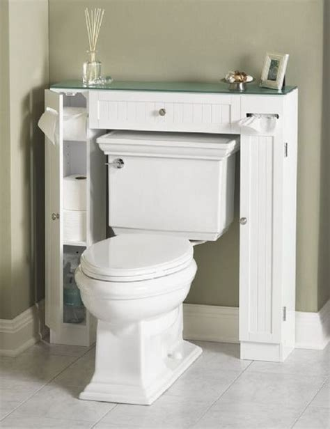The Toilet Bathroom Storage by 20 Clever Bathroom Storage Ideas Hative