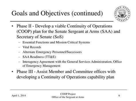 ppt u s senate sergeant at arms legislative branch