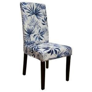 buy  ardor navy tropical surefit dining chair covers
