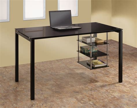 Building Office Desk Black Desks Black Glass Corner Computer Desk Uk Casita Deskblack Regal Graphite Black Finish