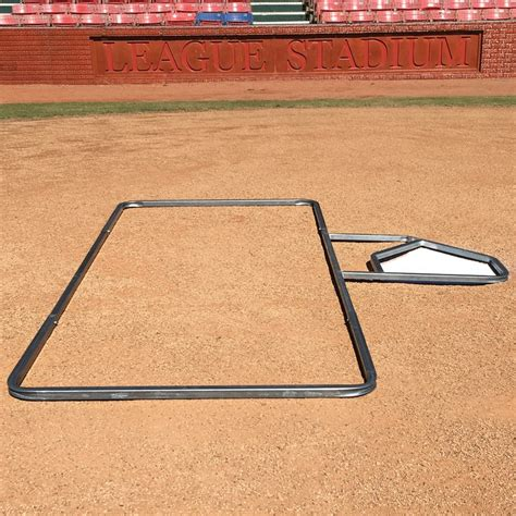 batters box template standard 3 x 7 softball batter s box template sports