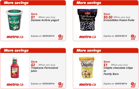 printable grocery coupons ontario canada metro ontario canada printable grocery coupons march 14