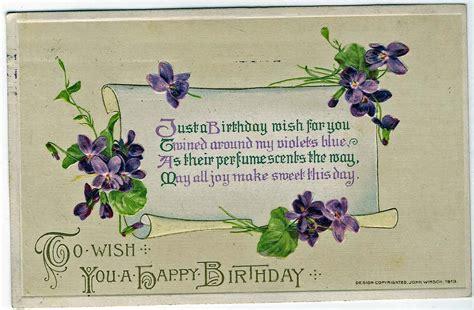 birthday wishes treasures n textures vintage birthday wishes