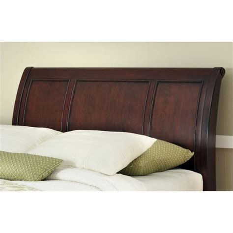 Sleigh Headboard sleigh headboard in cherry 5537 x01