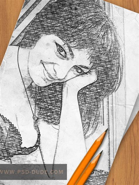 sketch pattern photoshop create a pencil photo sketch in photoshop photoshop