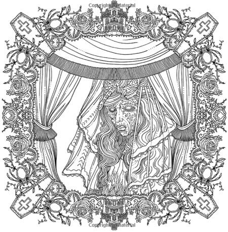 the of horror a goregeous coloring book best coloring books for adults cleverpedia