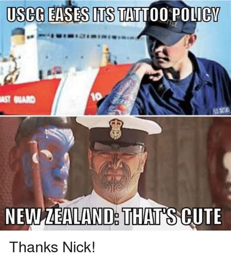 coast guard tattoo policy 25 best memes about newzealand newzealand memes