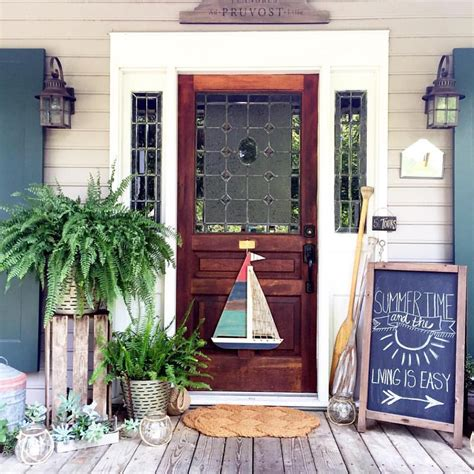 summer front porch cottage in the oaks cottage farmhouse features from foxhollowfridayfavs