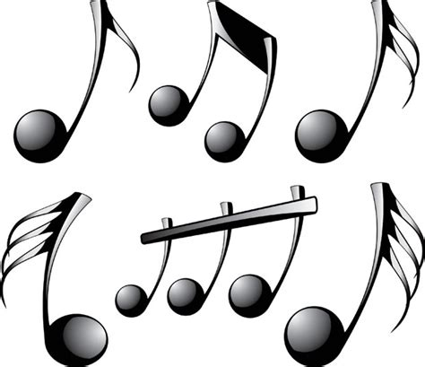 music note template clipart best