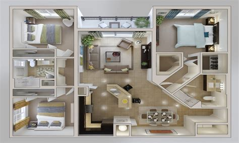 home design 3d bedroom studio apartment 3d floor plans 3d house plan 3 bedroom