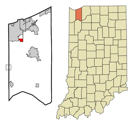 Porter County Search File Porter County Indiana Incorporated And Unincorporated Areas South