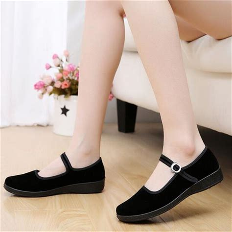 comfortable mary jane flats online buy wholesale cotton mary janes from china cotton