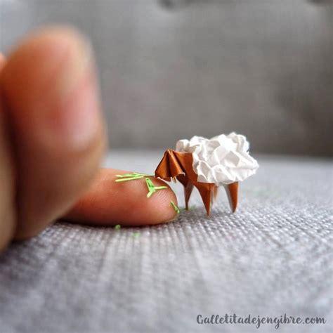 mini origami 191 c 243 mo hago mini origamis galletita de jengibre